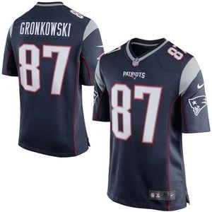 Nike Youth Nike Rob Gronkowski Navy Patriot